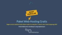2 Daftar Domain dan Hosting Gratis Selamanya Terbaru 2017