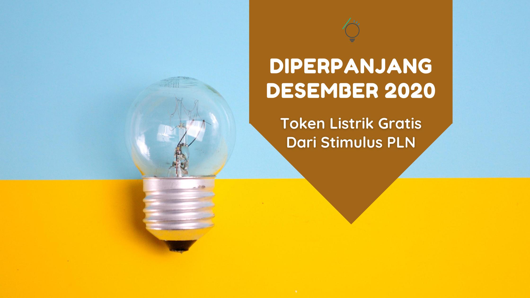 Stimulus pln.co.id Diperpanjang Hingga Desember 2020, Begini Cara Daftar Token Listrik Gratis