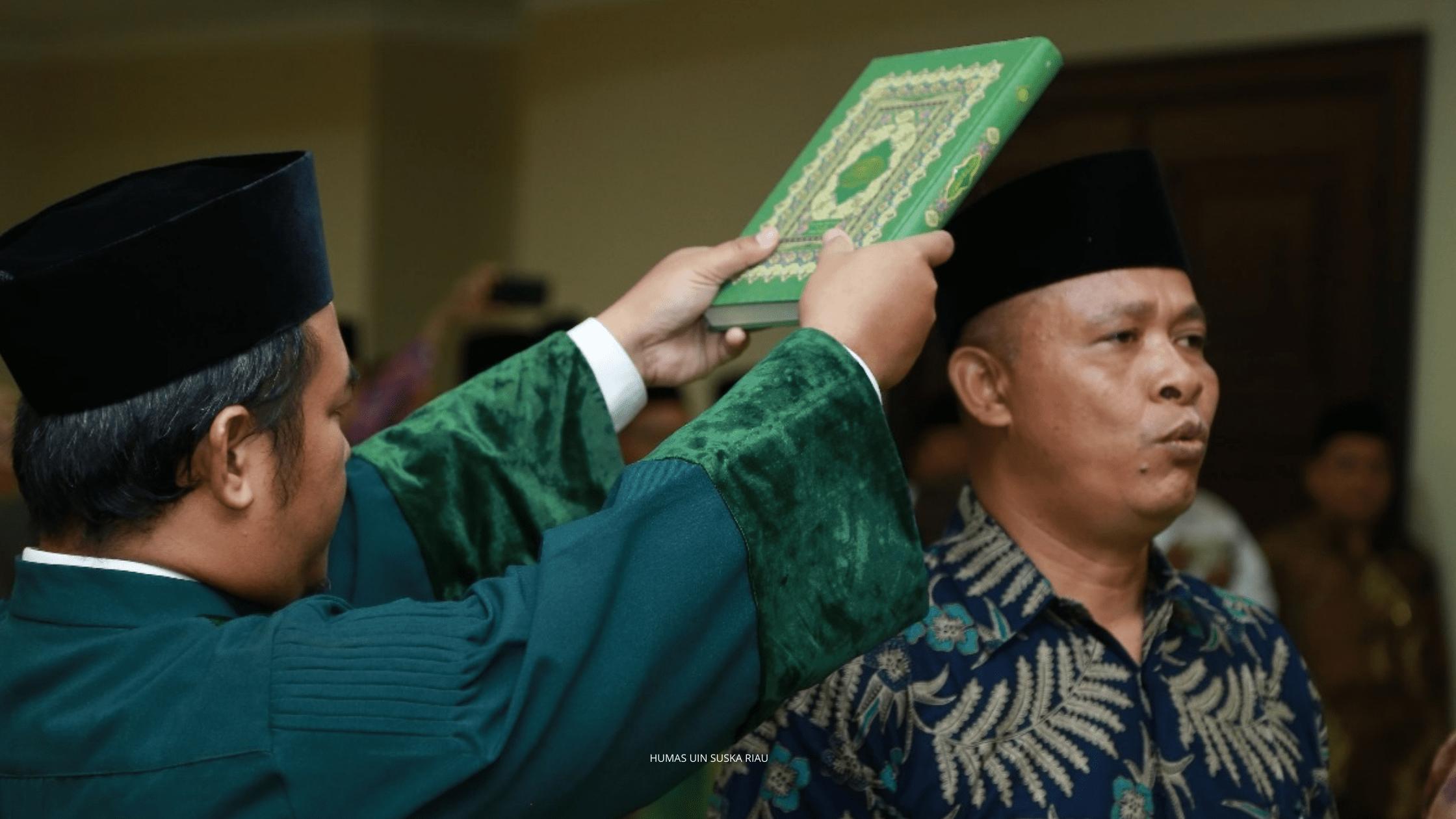 Titik Terang, Rektor Universitas Sultan Syarif Kasim Riau Dicopot Menteri Agama